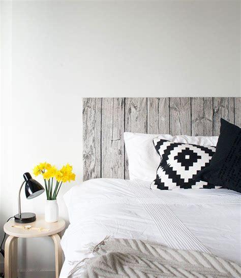 diy wood fabric headboard interior design pinterest