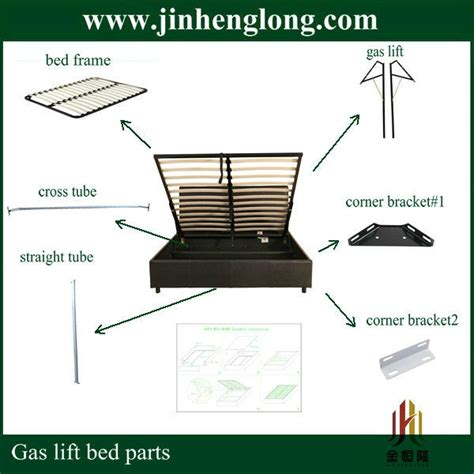 parts of the bed parts of metal hydraulic bed frame view metal hydraulic bed frame jinhenglong