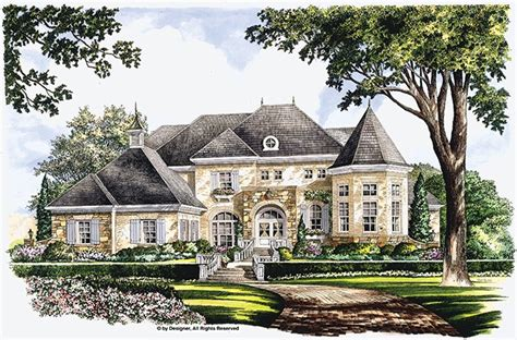 chateau house plan with 9611 square feet and 5 bedrooms eplans chateau house plan majestic bay 5134 square