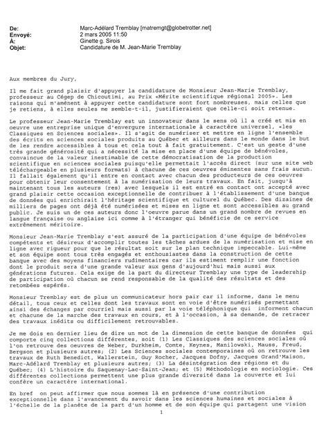 Lettre De Recommandation Université Laval De L Universit 233 Laval Lettre Au Format Jpg Et La Suite Lettre Au Images Frompo