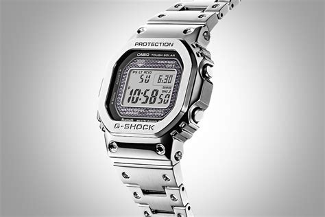casio g shock gmw b 5000 d 1 brings metal to the