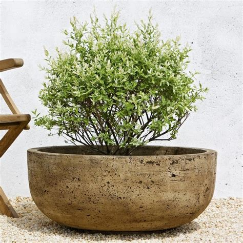 Large Outdoor Planter Pots cania international large mesa cast planter p 438 al contemporary outdoor pots