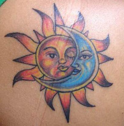amazing sun  moon tattoo designs   couples