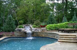 Cool Backyard Fire Pits by The Hottest Poolside Landscape Trends To Shape Your