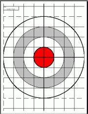 printable long range shooting targets free downloadable targets for 6mm br norma and 6br