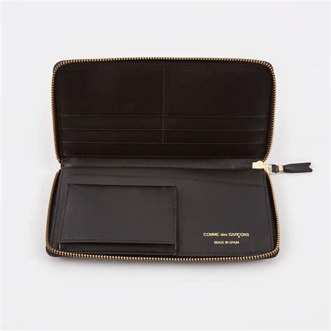 Comme De Garcons Knot Handbag Wallets by Comme Des Garcons Wallet Classic Leather L Sa0110 Black