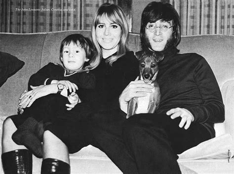 john lennon biography articles january 1968 john cynthia and julian photographed for the