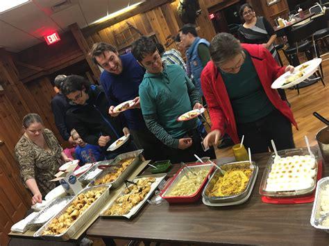 international thanksgiving potluck  success news