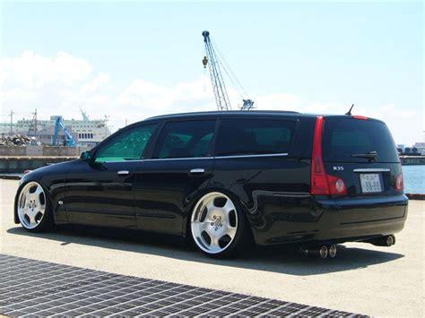 lexus wagon jdm jdm nissan stagea m35 wagon on 20 quot wald duchatelet