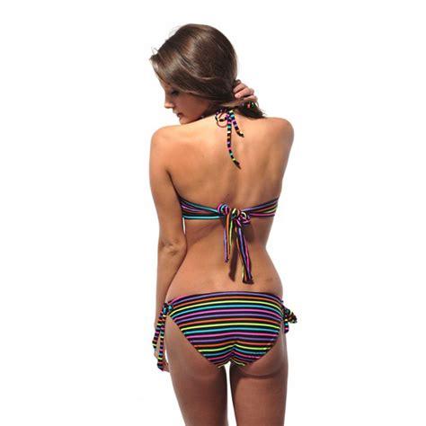 speedo maillot de bain maillot de bain bandeau multicolore best of bikinis
