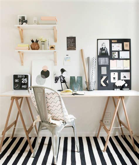vintage home design inspiration een bureau op schragen