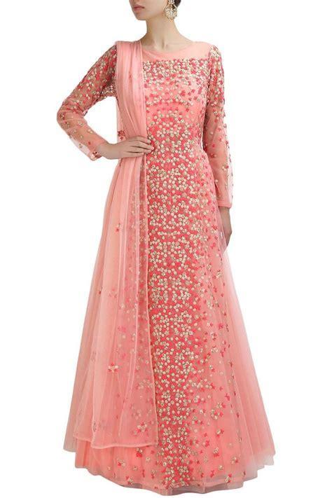 Pink color anarkali gown   Best Anarkali gown, Anarkali