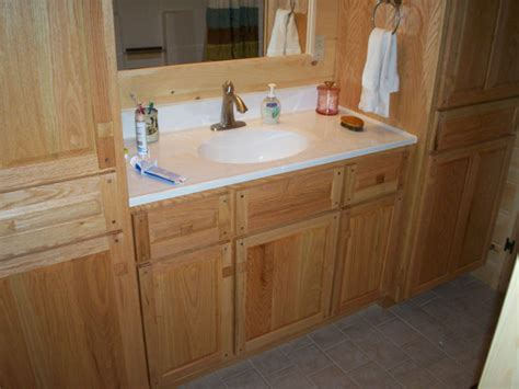 oak cabinets bathroom hand crafted soild oak bathroom vanity and cabinets grove