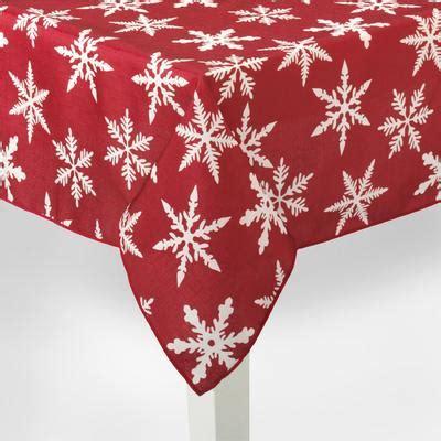 snowflake pattern tablecloth holiday tablecloth snowflake