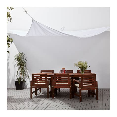 ikea gazebo canopy dyning canopy wedge shaped white 360 cm ikea