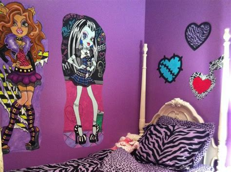 monster high wallpaper for bedroom walls top 25 ideas about monster high room ideas on pinterest