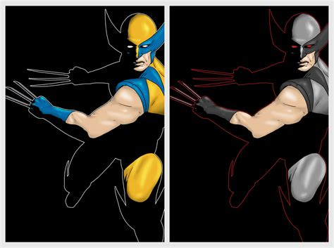 wolverine colors wolverine colors by karbacca on deviantart