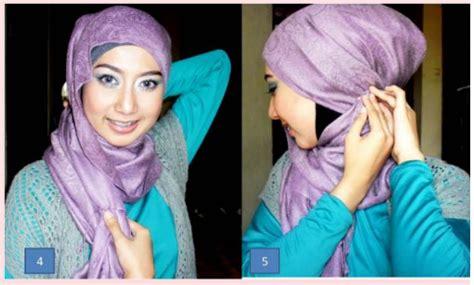 tutorial jilbab pesta silang tutorial jilbab cara memakai jilbab pesta yang cantik