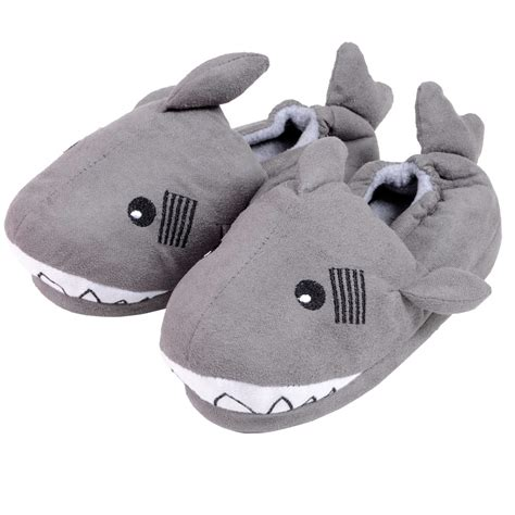 children s animal slippers novelty gift character animal fleece