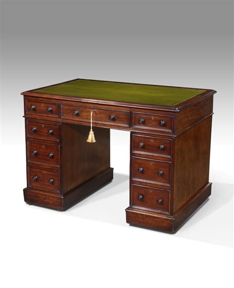 Best Small Desks Small Antique Desk Pedestal Desk Leather Top Desk Antiques Uk Georgian Furniture Regency