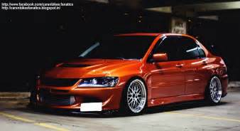 Mitsubishi Lancer Evo Modified Car Bike Fanatics Modified Mitsubishi Lancer Evolution 8