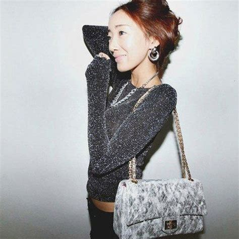 Kalung Fashion Korea Silver korean silver glitter bling shoulder slim shirt with sleeves sleeved silver in t