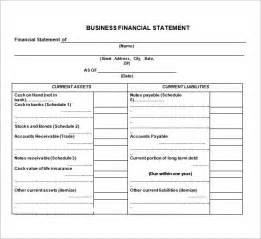 7 financial statement templates
