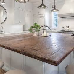Wood Island Kitchen by Designing A Kitchen Domestic Imperfection
