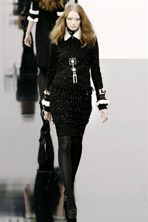 Channel Dress 2 chanel black dress coco chanel black dress picture in dresses of black