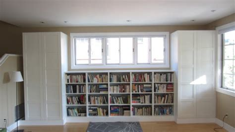 besta closet living room built in bookshelves and closets using besta