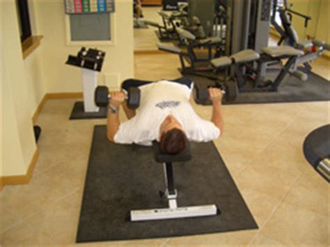 critical bench exercises dumbbell chest press exercise