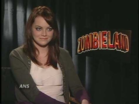 emma stone youtube interview emma stone zombieland ans interview youtube
