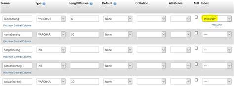 query mysql membuat tabel cara membuat database dan tabel menggunakan mysql jnm
