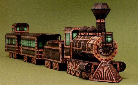 Craftowntoys Railroad Track Toys Papercraft paperkraft net free papercraft paper model papertoy