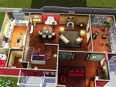 Halliwell Manor Floor Plans | sims and just stuff halliwell manor from charmed by