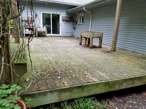 residential deck  fence cleaning md power wash