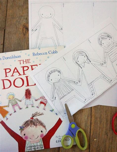 Paper Dolls Chain - the 25 best paper dolls ideas on paper dolls