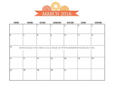 printable daily calendar march 2016 enjoy your free printable march 2016 calendars home