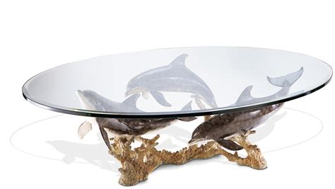 dolphin reef coffee table