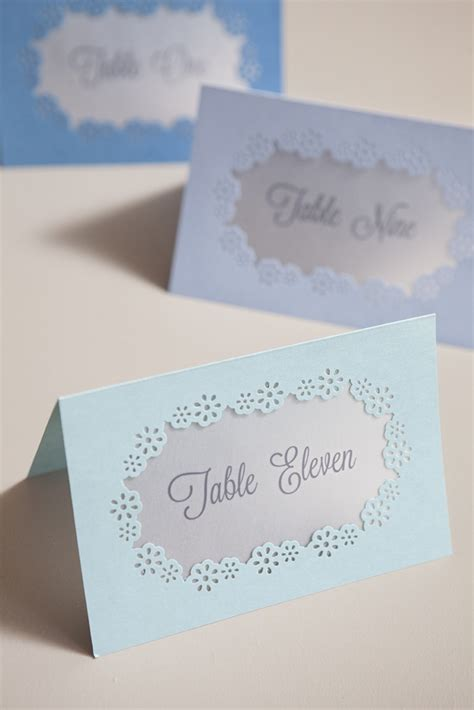 how to make table number cards learn how easy it is to punch your wedding stationary