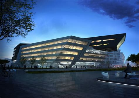 Of Vienna Mba by Library And Learning Center In Vienna Austria By Zaha Hadid