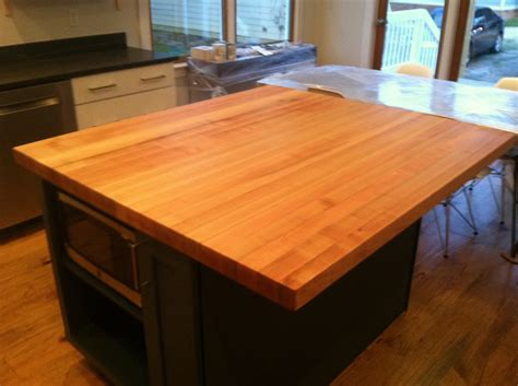 kitchen island with chopping block top decorating outstanding varnished hard maple butcher block