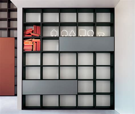 lema selecta 06 bookcase wall unit customisable
