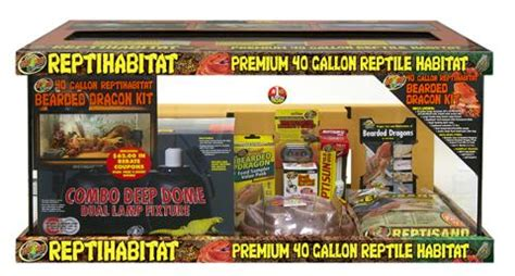 L Kits For Sale by Zoo Med Repti Habitat Bearded Kit 40 Gallon For Sale