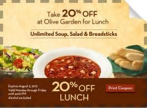 expired 20 at olive garden
