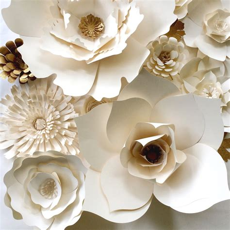 How To Make Paper Flowers For Wall - paperflora all your paper decor needs paper flower