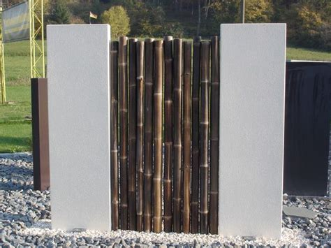 Stelen Garten by 1000 Ideas About Sichtschutz F 252 R Zaun On