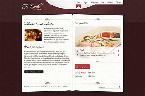 joomla simple template free 30 best restaurant joomla templates free