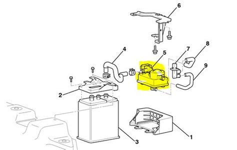 Service Manual How To Remove Vapor Canister 1996