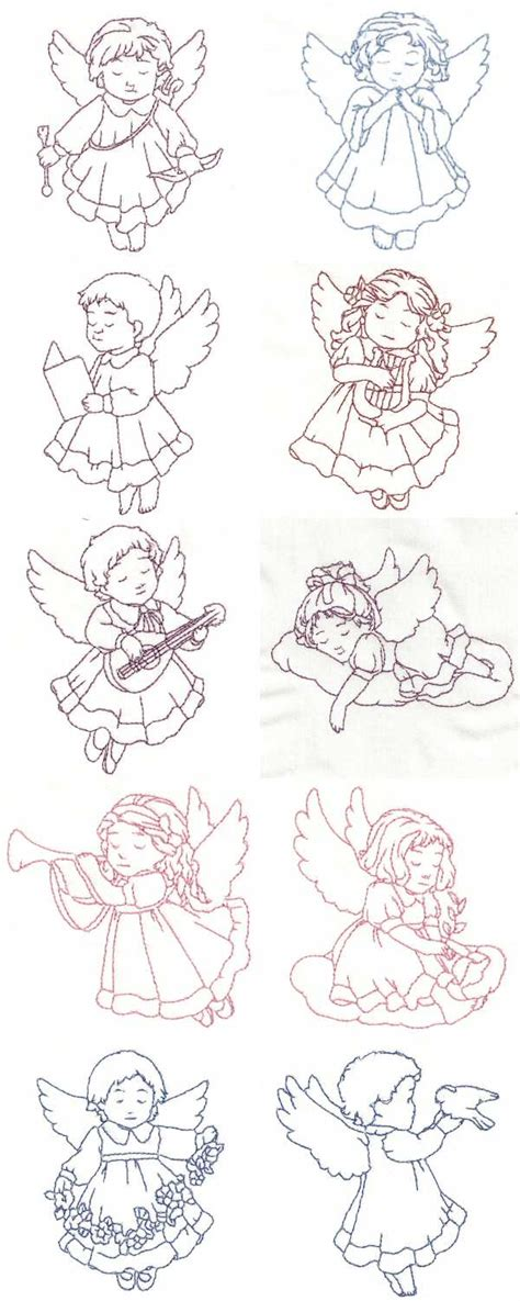 embroidery design angel angel design embroidery free 171 embroidery origami